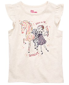 Epic Threads Toddler Girls Zebra Girl T-Shirt, Created for Macy's