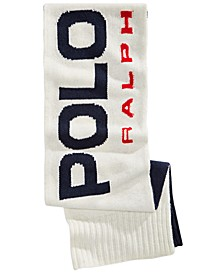 Men's Logo Knit Scarf