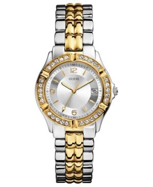 Guess Watch, Women's Two-Tone Stainless Steel Bracelet 36mm U0026L1