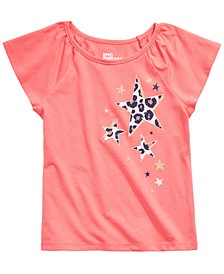 Toddler Girls Leopard Stars T-Shirt, Created for Macy's