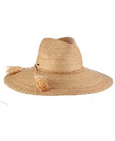Fine Braid Raffia Safari Hat