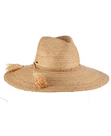 Scala Fine Braid Raffia Safari Hat