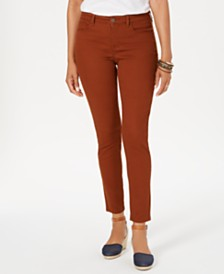 Style & Co Petite Curvy-Fit Tummy-Control Skinny Jeans, Created for Macy's