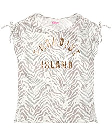 Big Girls Paradise Island T-Shirt, Created for Macy's