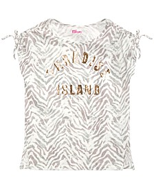 Epic Threads Big Girls Paradise Island T-Shirt, Created for Macy's