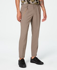 I.N.C. Men's Slim-Fit Pleated Pants, Created for Macy's