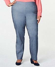 Plus Size Tummy-Control Skinny Pants, Created for Macy's