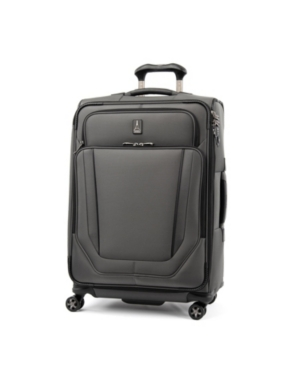 "Travelpro Crew Versapack 25"" Softside Check-in Spinner In Titanium Gray"
