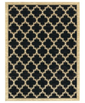 Shaw Living Rugs, American Abstracts 01500 Milazzo Black
