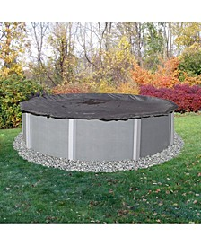 Arcticplex Above-Ground 18' X 34' Oval Rugged Mesh Winter Cover