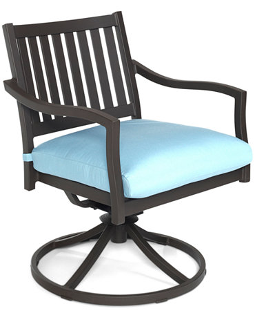Commacys Outdoor Furniture : ... Aluminum Patio Furniture, Outdoor Swivel Chair - Furniture - Macys