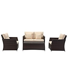 Parry 4Pc Outdoor Seating Set