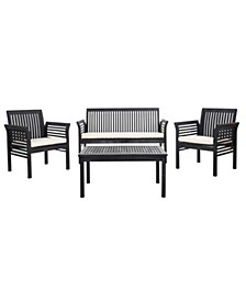 Carson 4Pc Outdoor Seating Set, Quick Ship