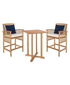 Pate 3pc Bar Table Bistro Set