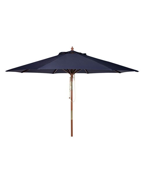 Safavieh Cannes 9' Wooden Umbrella