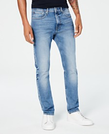 Calvin Klein Jeans Men's Tapered Z Blue Jeans