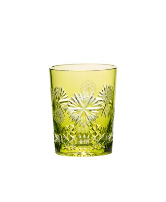2019 Snowflake Wishes Prosperity Prestige Edition Double Old-Fashioned Glass