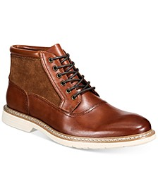 Rynier Leather Lace-Up Boots, Created for Macy's
