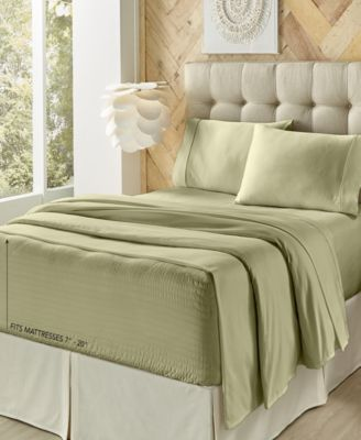 J. Queen New York Royal Fit 500 TC Cotton King Sheet Set