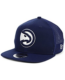 New Era Atlanta Hawks Dub Fresh Trucker 9FIFTY Snapback Cap