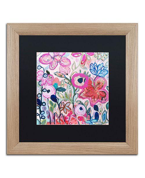"""Trademark Global Carrie Schmitt 'Beloved' Matted Framed Art - 16"""" x 16"""""""