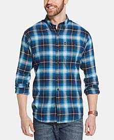 Men's Fireside Classic-Fit Plaid Flannel Shirt