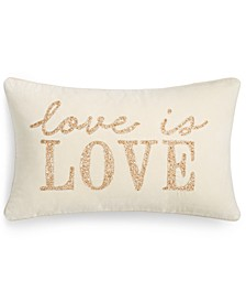 "Love Is Love 14"" x 24"" Decorative Pillow"