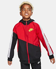Nike Big Boys Hooded Sportswear Jacket