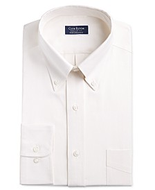 Men's Classic/Regular-Fit Stretch Oxford Solid Dress Shirt, Created for Macy's