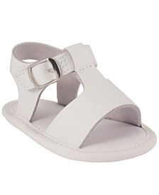 Baby Deer Baby Unisex Leather T-Strap Sandal