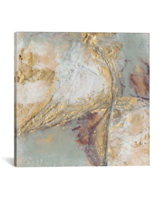Gilded Circuit I by Jennifer Goldberger Gallery-Wrapped Canvas Print - 37