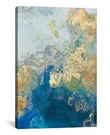 "Ocean Splash Ii by Pi Galerie Gallery-Wrapped Canvas Print - 18"" x 12"" x 0.75"""