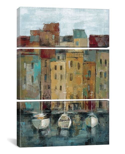 "iCanvas Old Town Port Ii by Silvia Vassileva Gallery-Wrapped Canvas Print - 60"" x 40"" x 1.5"""