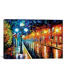 """iCanvas Blue Lights I by Leonid Afremov Gallery-Wrapped Canvas Print - 18"""" x 26"""" x 0.75"""""""