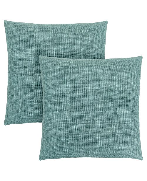 "Monarch Specialties 18"" x 18"" Patterned Pillow, Set Of 2"