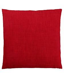 "Monarch Specialties 18"" x 18"" Linen Patterned Pillow"