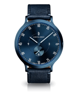 L1 All Blue Leather Watch 42mm