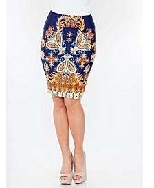 Pretty and Proper Versailles Pencil Skirt
