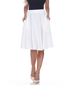 White Mark Saya Flare Skirt