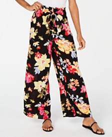 Billabong Juniors' Floral-Print Soft Pants