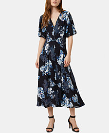French Connection Caterina Floral-Print Maxi Dress