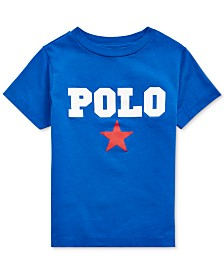 Polo Ralph Lauren Toddler Boys Americana Jersey Cotton T-Shirt