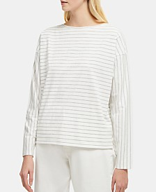 French Connection Rosana Tim Tim Striped Top