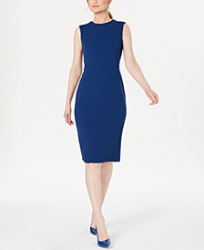 Modern Stretch Sheath Dress