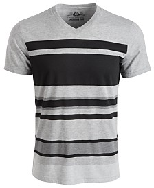American Rag Men's Variegated Striped T-Shirt, Created for Macy's
