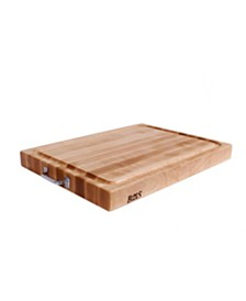 "John Boos Maple Wood Gravy Groove  24"" x 18"" Reversible Edge Grain Cutting Board"