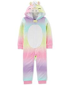 Carter's Toddler Girls 1-Pc. Unicorn Pajama