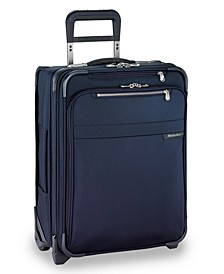 "Baseline International 21"" 2-Wheel Carry-On Wide-Body Luggage"