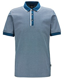 BOSS Men's Phillipson 57 Slim-Fit Cotton Polo Shirt