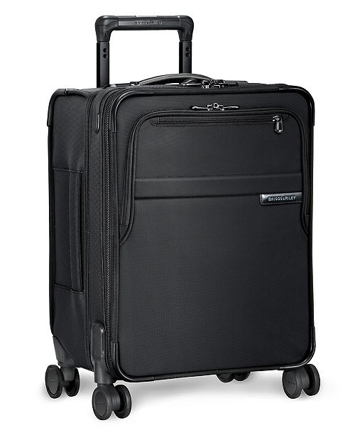 """Briggs & Riley Baseline Commuter 19"""" Softside Carry-On Spinner"""